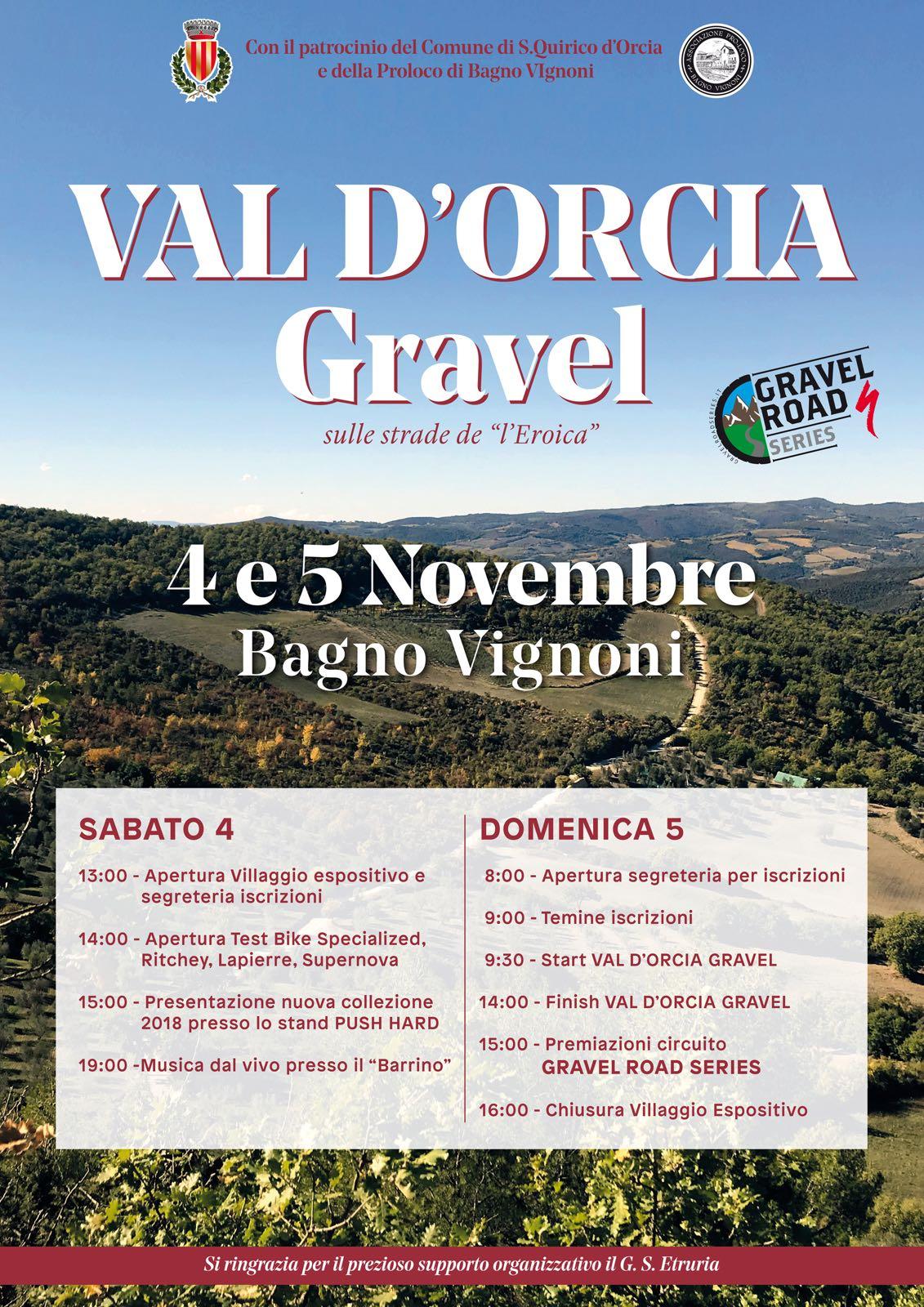 Bagno Vignoni Capitale del Ciclismo Gravel – Comune di San Quirico d ...